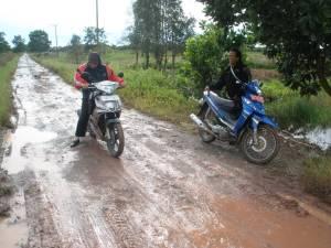 perjalanan ke posyandu